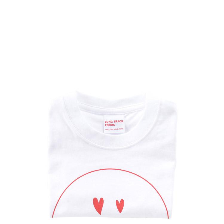 LOVE SMILEYキッズTシャツ