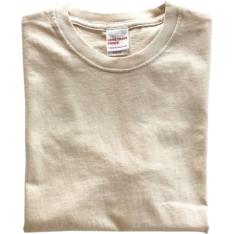 Daily LOGO PIGMENT Tシャツ(ナチュラル)