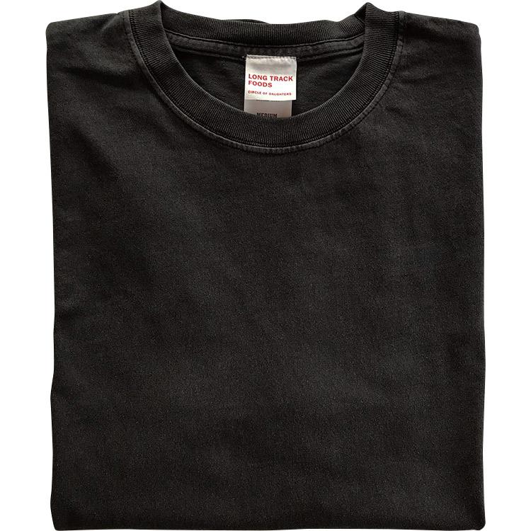 Daily LOGO PIGMENT Tシャツ(ブラック)