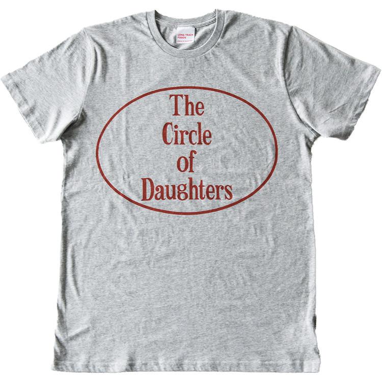 BIG CIRCLE LOGO オーガニックコットンTシャツ 杢グレー