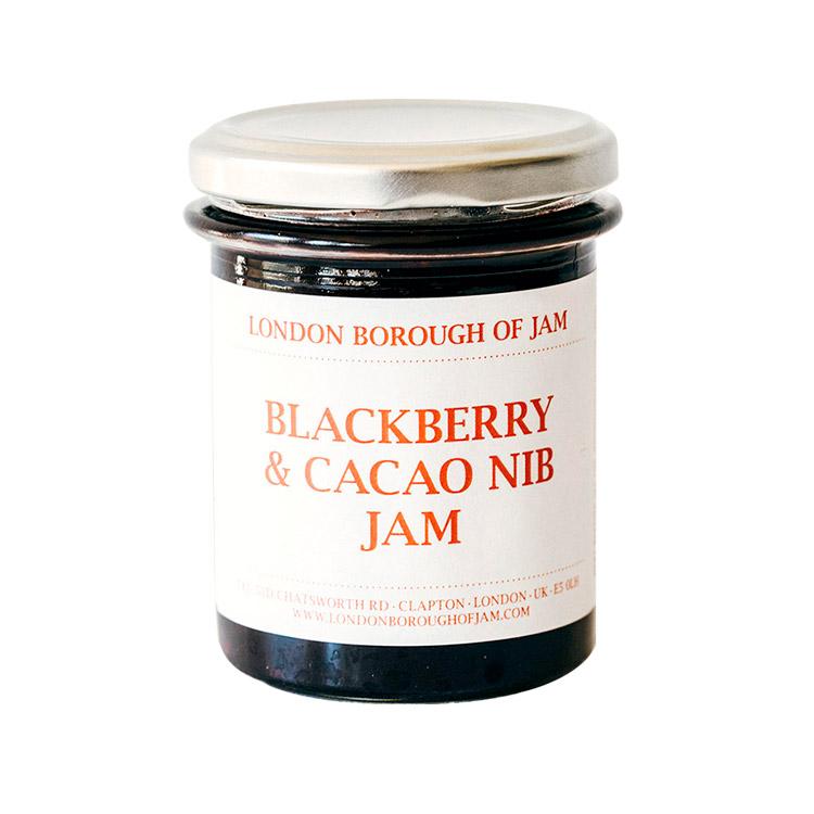 LONDON BOROUGH OF JAM ブラックベリーとカカオニブのジャム