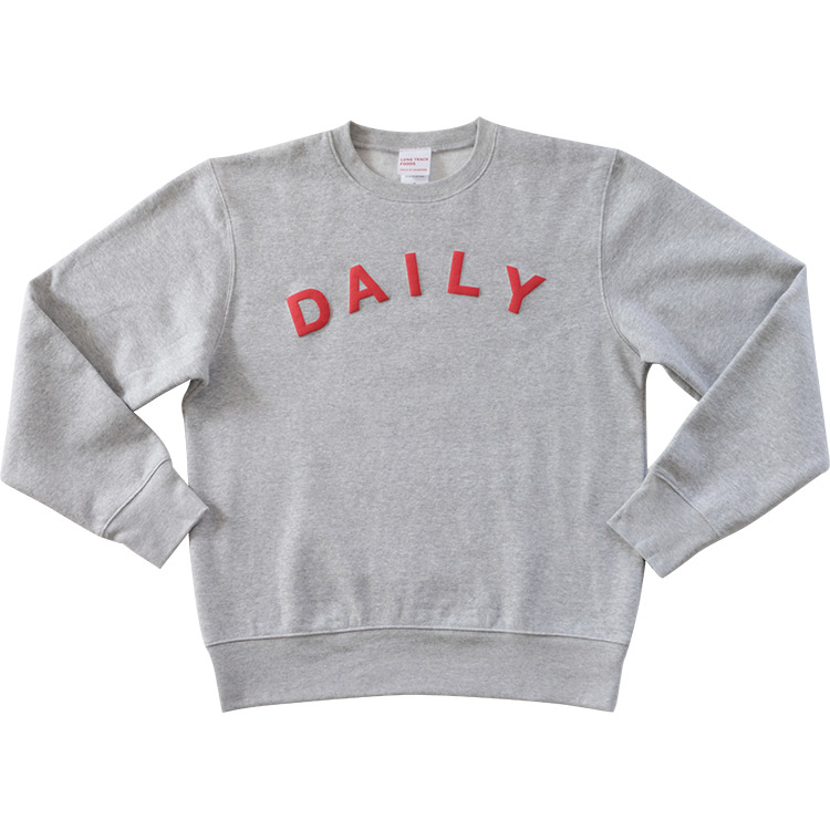 Dailyスウェット(杢グレー)