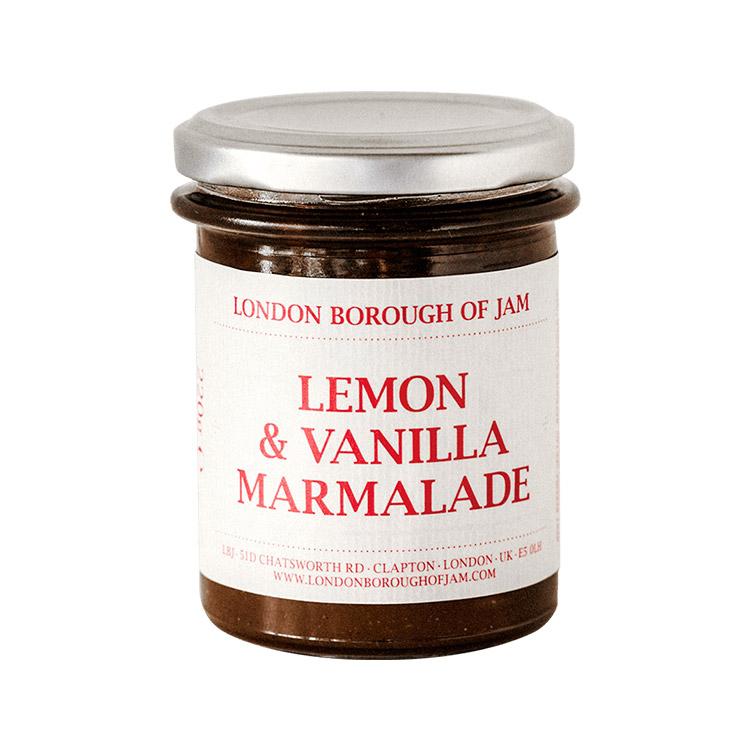 LONDON BOROUGH OF JAMレモンとバニラのマーマレード