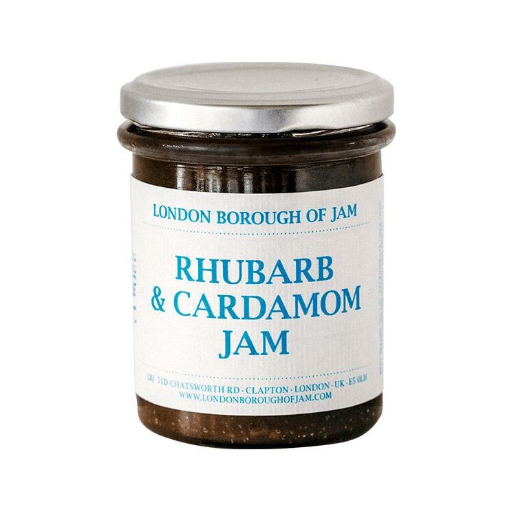 LONDON BOROUGH OF JAMルバーブとカルダモンのジャム